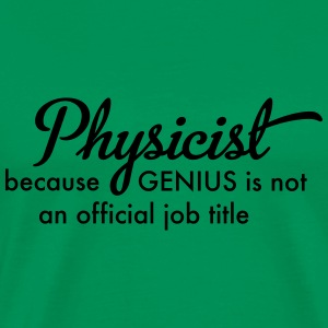 physicist T-Shirts - Men's Premium T-Shirt