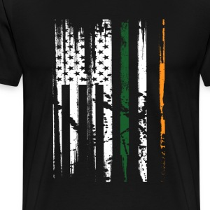IRISH POLICE ST. PATRICK'S DAY T-Shirts - Men's Premium T-Shirt