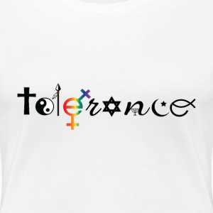 tolerance Women's T-Shirts - Women's Premium T-Shirt