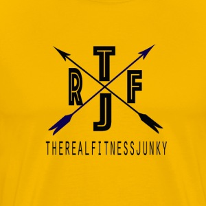 THE REAL FITNESS JUNKY T - Men's Premium T-Shirt