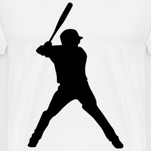 Baseball Player Batter - Men's Premium T-Shirt