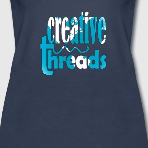 CreativeThreads-Globe Tanks - Women's Premium Tank Top