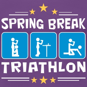 spring break triathlon Women's T-Shirts - Women's Premium T-Shirt