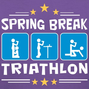 spring break triathlon Women's T-Shirts - Women's V-Neck T-Shirt