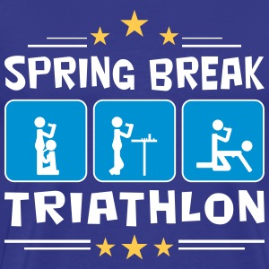 spring break triathlon T-Shirts - Men's Premium T-Shirt