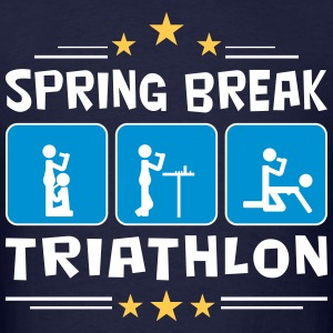 spring break triathlon T-Shirts - Men's T-Shirt
