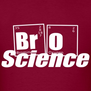 brosciencewhite T-Shirts - Men's T-Shirt