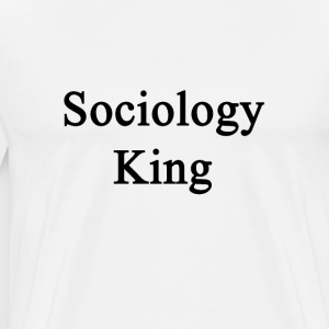 sociology_king T-Shirts - Men's Premium T-Shirt