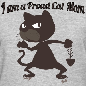 I am a Proud Cat Mom - Women's T-Shirt