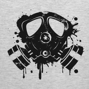 Gas mask graffiti Tank Tops - Men's Premium Tank
