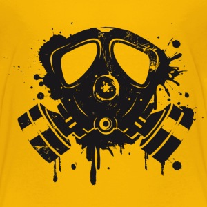 Gas mask graffiti Baby & Toddler Shirts - Toddler Premium T-Shirt