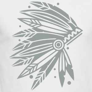 Chieftain's Headdress Long Sleeve Shirts - Men's Long Sleeve T-Shirt by Next Level