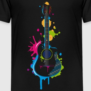 Graffiti guitar Baby & Toddler Shirts - Toddler Premium T-Shirt