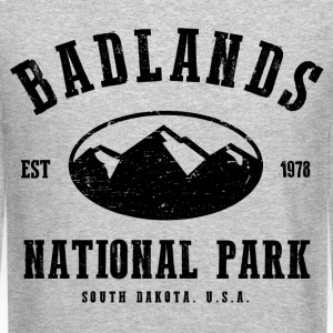 Badlands National Park Long Sleeve Shirts - Crewneck Sweatshirt