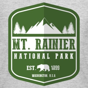 Mt. Rainier National Park Long Sleeve Shirts - Women's Long Sleeve Jersey T-Shirt