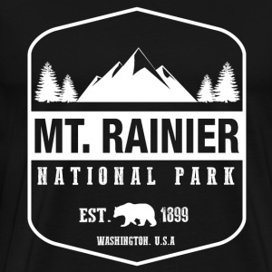 Mt. Rainier National Park T-Shirts - Men's Premium T-Shirt