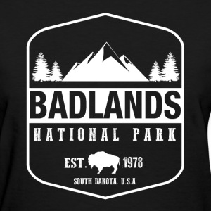 Badlands National Park Women's T-Shirts - Women's T-Shirt