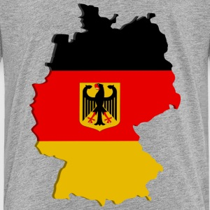 Germany map Kids' Shirts - Kids' Premium T-Shirt