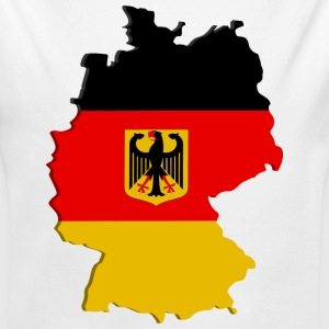 Germany map Baby Bodysuits - Long Sleeve Baby Bodysuit