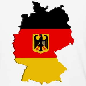 Germany map T-Shirts - Baseball T-Shirt