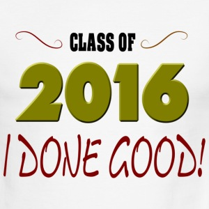 Graduation Class of 2016 Men's Ringer T-Shirts - Men's Ringer T-Shirt