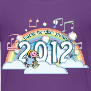 born_in_the_year_2012_a Kids' Shirts - Kids' Premium T-Shirt