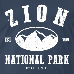 Zion National Park T-Shirts - Men's Premium T-Shirt