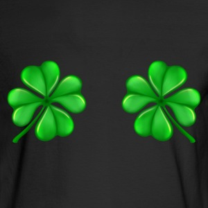 Men's Long Sleeve T-Shirt     Clover Bra - Men's Long Sleeve T-Shirt