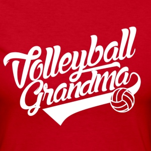 Volleyball Grandma Long Sleeve Shirts - Women's Long Sleeve Jersey T-Shirt