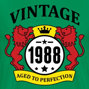 Vintage 1988 Aged to Perfection T-Shirts - Men's Premium T-Shirt