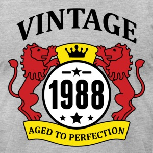Vintage 1988 Aged to Perfection T-Shirts - Men's T-Shirt by American Apparel