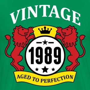 Vintage 1989 Aged to Perfection T-Shirts - Men's Premium T-Shirt