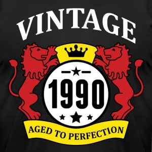 Vintage 1990 Aged to Perfection T-Shirts - Men's T-Shirt by American Apparel
