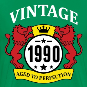 Vintage 1990 Aged to Perfection T-Shirts - Men's Premium T-Shirt