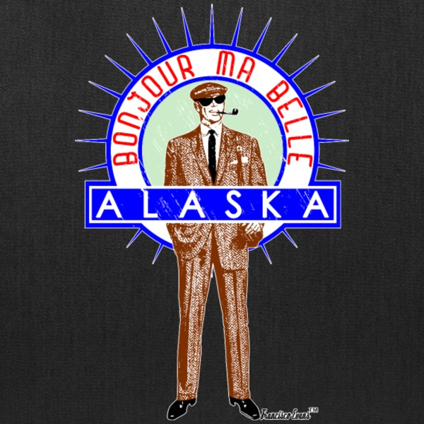 Bonjour ma belle Alaska, by Francisco Evans ™ Bags & backpacks - Tote Bag