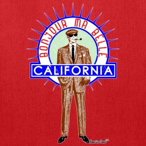 Bonjour ma belle California, Francisco Evans ™ Bags & backpacks - Tote Bag