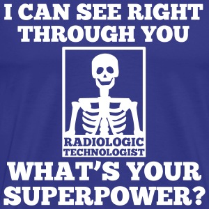 Radiographer Superpower T-Shirts - Men's Premium T-Shirt