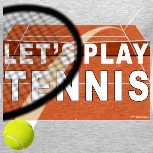 Let's Play Tennis T Shirts, Clay Court Tanks - Women's Premium Tank Top