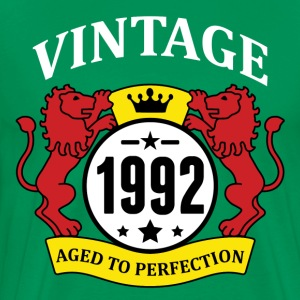 Vintage 1992 Aged to Perfection T-Shirts - Men's Premium T-Shirt