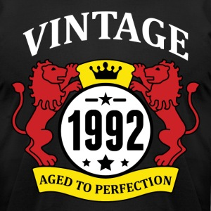 Vintage 1992 Aged to Perfection T-Shirts - Men's T-Shirt by American Apparel