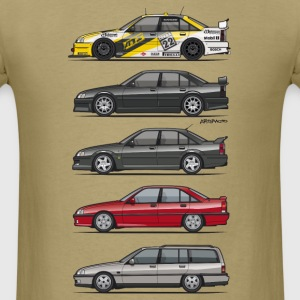 Stack of Opel Omegas / Vauxhall Carlton A T-Shirts - Men's T-Shirt