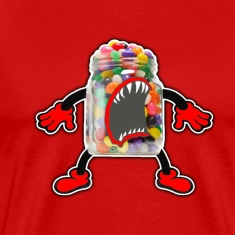 Angry Jelly Beans Jar
