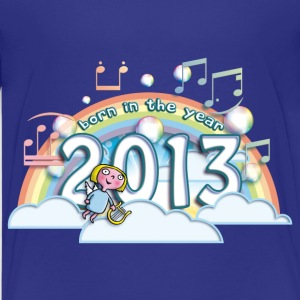born_in_the_year_2013_a Kids' Shirts - Kids' Premium T-Shirt