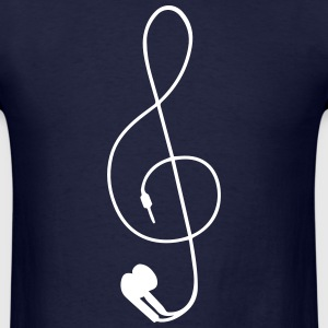 earphones T-Shirts - Men's T-Shirt