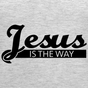 Jesus is the way Tanks - Women's Premium Tank Top