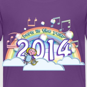 born_in_the_year_2014_b Baby & Toddler Shirts - Toddler Premium T-Shirt