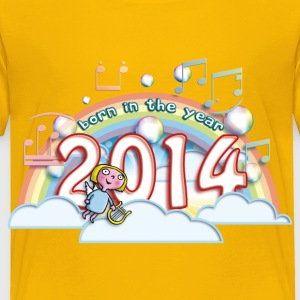 born_in_the_year_2014_c Baby & Toddler Shirts - Toddler Premium T-Shirt