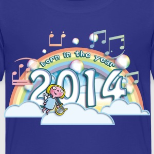 born_in_the_year_2014_a Baby & Toddler Shirts - Toddler Premium T-Shirt