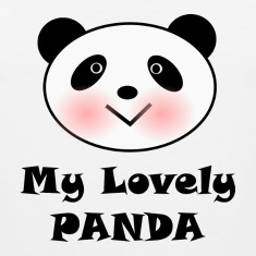 My Lovely Panda Tank Tops