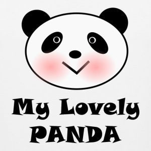 My Lovely Panda Tank Tops - Men's Premium Tank